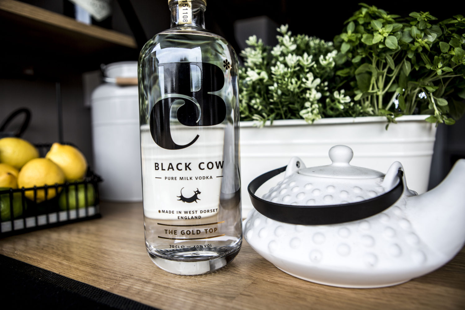 The Black Cow Vodka on The Paddock mobile bar
