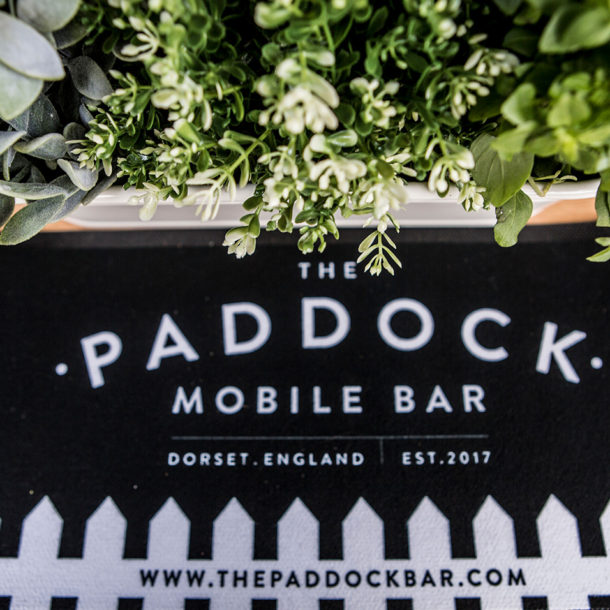 The Paddock Mobile Bar Beer Mat